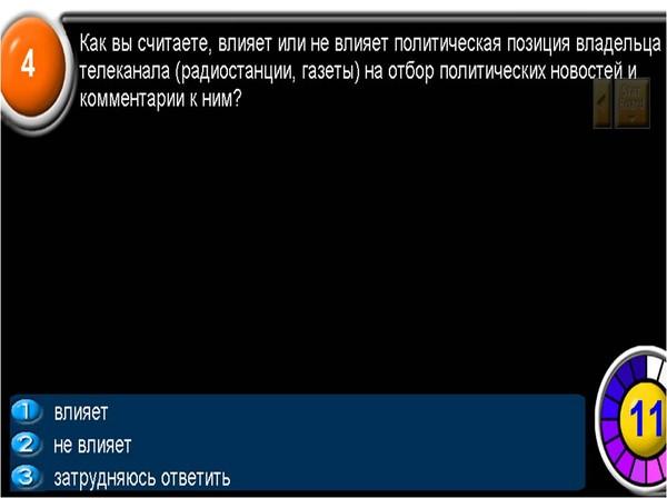 Лот 2. МОУ музшкола №23 Сонина Мария Николаевна. Роль СМИ в  политической жизни.