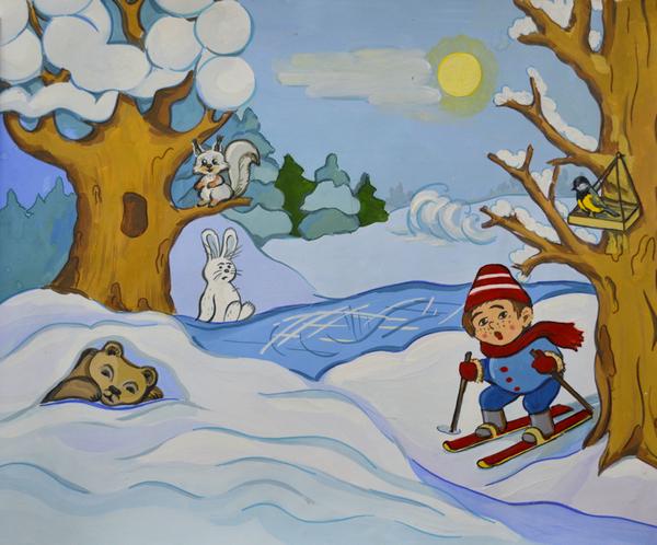 Здравствуй, зимушка - зима.